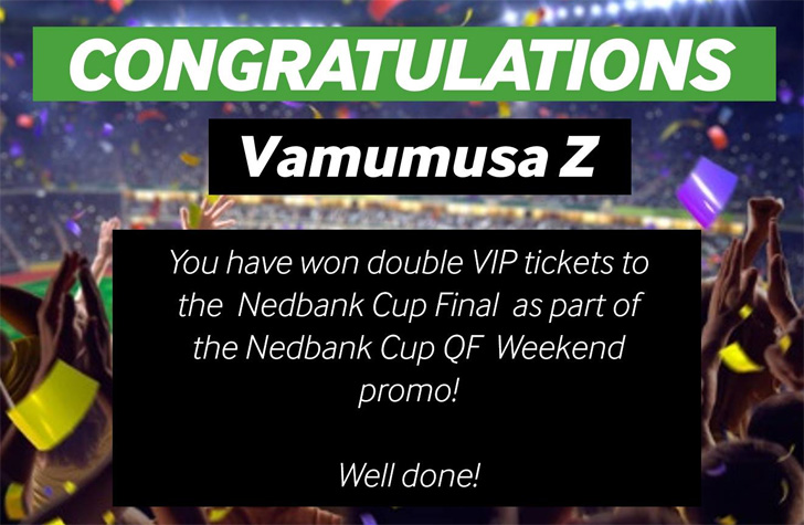 Congratulations to Vamumusa Z
